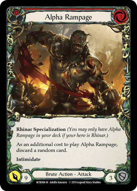 Alpha Rampage